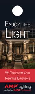 Picture of Enjoy The Light (House Design) AMP Door Hanger
